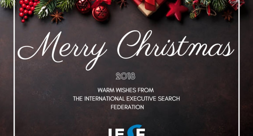 Our International Team of IESF Consultants also wishes Merry Christmas