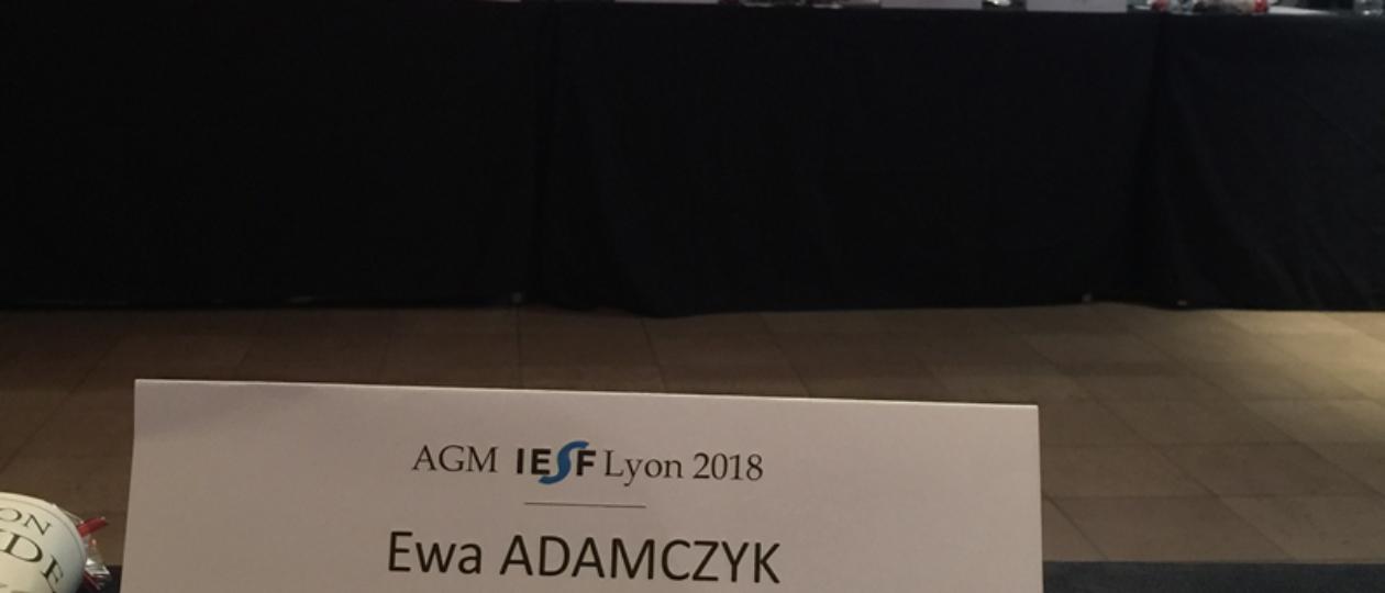Globalna Konferencja IESF wrzesień 2018 Francja/Lyon